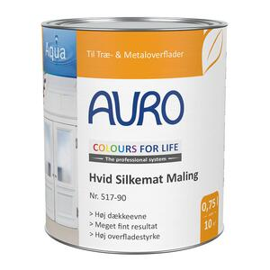 COLOURS FOR LIFE Hvid Silkemat Maling nr. 517-90
